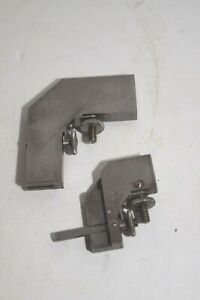 Vintage Vintage Lufkin 18A & 18B Right Angle Rule Clamps