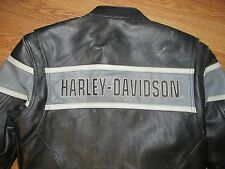 MENS HARLEY DAVIDSON LEATHER JACKET SIZE MEDIUM