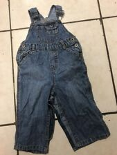 Infant Baby Guess Bib Overalls Size 18M Boys Or Girls Denim Jean