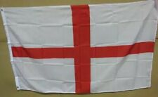2 x 5ft x 3ft Material Flags ENGLAND St George Free P&P