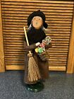 2011 Byers Choice Halloween Gingerbread Witch, Signed