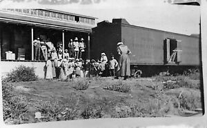 "Idaho Packing House Railroad Car ""Pacific Fruit Express"" Real Photo Postcard"