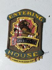 """HARRY POTTER ENTERING GRYFFINDOR HOUSE """"WINNER-HOUSE CUP"""" WALL PLAQUE"""