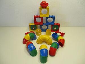 (HK/2) LEGO Duplo  Kugelbahn  Erweiterung Zubehör mit Kugel Konvolut Sammlung