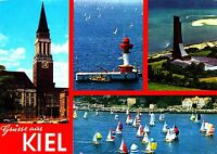 Grüsse aus Kiel , Ansichtskarte, gelaufen