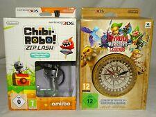 nintendo 3DS box ZELDA HYRULE WARRIORS LEGENDS + CHIBI ROBO! / Neuf New Unopen/