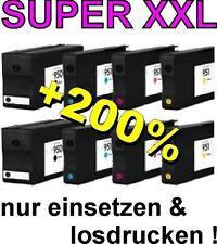 8x Cartuchos para HP Officejet Pro 8100 8600 8610 8630 / 950xl 951xl Tinta con