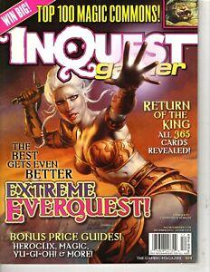 Inquest Gamer Magazine -Dec 2003 # 104  - Cover 1 of 2 - Top 100 Magic Commons