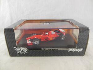 Hotwheels Mattel 26749 Ferrari F1 2000 Ruben Barrichello Racing No. 4 1:43 Scale