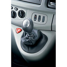 Genuine Leather Gear Shift Boot Gaiter Cover Sleeve fit Vauxhall Vivaro & Movano