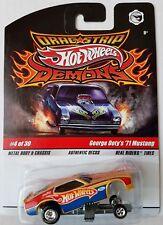Hot Wheels Drag Strip Demons George Doty's '71 Mustang VHTF