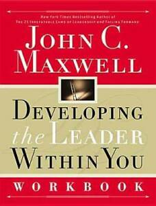 Developing the Leader Within You Workbook - Paperback By Maxwell, John C. - GOOD