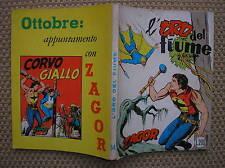 ZAGOR ZENIT #54 L'ORO DEL FIUME ORIGINALE 1965 OTTIMO