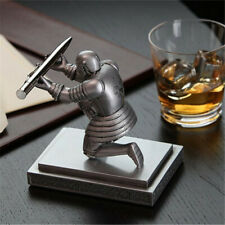 Executive Medieval Soldier Knight Pen Holder Stand Office Desk Decor Xmas Gift