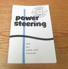 1955 1956 1957 Chevy Power Steering Manual Car & Truck * Usa Made *