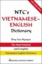 NTC's Vietnamese - English Dictionary by Dinh-Hoa Nguyen (1995, Paperback,...