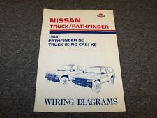 1988 Nissan Pathfinder & Truck Electrical Wiring Diagram Guide Manual E XE SE