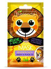 BIELENDA Crazy Mask regenerująca maska w płacie Lew/Regenerating sheet mask Lion