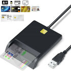 Smart Card Reader DOD Military USB Common Access CAC compatible Windows Mac US