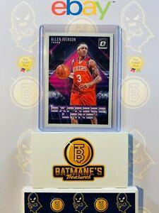 2018-2019 Donruss Optic Allen Iverson #12 76ers NM Mint NBA Basketball Card