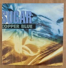 Sugar/ Copper Blue - Rare Vinyl Lp Album UK 1st press 1992 CREATION CRELP129