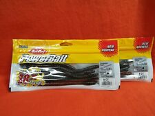 BERKLEY POWERBAIT FATTY BOTTOM HOPPER (7IN) WTRMLN RED MGC (8CT)(2PK'S) #1482190