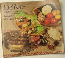 Libretto Libro Cucina Delicati India DDR Ostalgie Piatti Ricette GDR VEB 1980