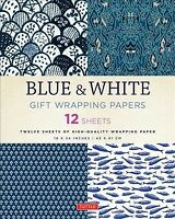 Blue & White Gift Wrapping Papers : 12 Sheets, Accessory by Tuttle Publishing...