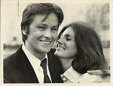 "GAYLE HUNNICUTT & ALAIN DELON in ""Scorpio"" Original Vintage Photograph 1973"