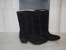Carlos By Carlos Santana New Womens Lafayette Black Western Boots 6.5 M Shoes