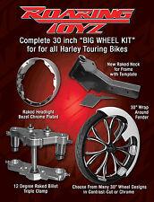 30 Inch Front End Wheel Tire Kit Harley Bagger Electraglide Electra FLH Touring