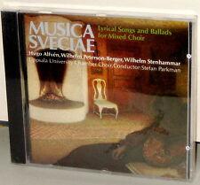 MUSICA SVECIAE CD MSCD 612E: Lyrical Songs & Ballads Mixed Choir OOP UK 1988 SS