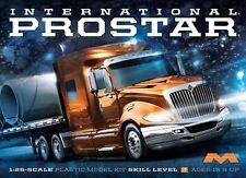 1/25 Moebius International ProStar Truck Plastic Model Kit 1301 Pro Star