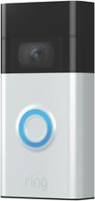 Ring Video Doorbell (2nd Gen.) 1080p Doorbell Camera - Satin Nickel (8VR1SZ-SEN0)