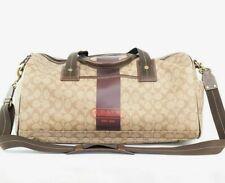 COACH XL Khaki Signature Travel Overnight Duffle Bag #77816