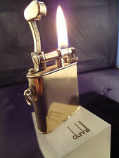 Dunhill Unique 'B' Petrol Lighter - Gold Plated - Feuerzeug - Briquet