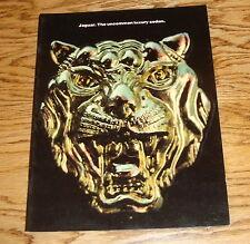 Original 1976 Jaguar Full Line Deluxe Sales Brochure 76 XJ12 XJ6