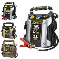 Battery Jump Starter Air Compressor Portable Car Charger Booster 700 1000 1200 A
