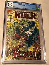 Marvel Comics Incredible Hulk vs Venom #1 CGC 9.0 *Red Foil Logo,Embossed Cover*