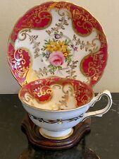 New listing Vintage Grosvenor England Bone China Cup and Saucer Signed I. Baker