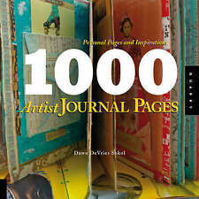 1,000 Artist Journal Pages: Personal Pages and Inspirations, Good Condition Book