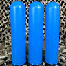 NEW Dye Alpha Paintball Pods - 150 Round Tubes - 3 Pack - Cyan Blue