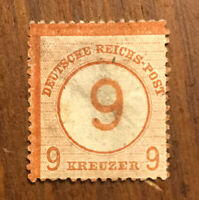 Germany Stamps # 28 VF Used Scott Value $450 H