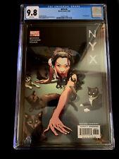 NYX #5 3rd appearance of X-23 CGC 9.8 Tatiana cover