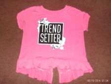 justice-- girls size 14-- pink--trend setter top--nwt