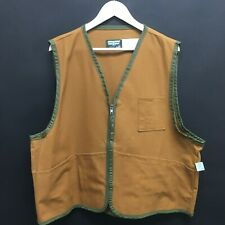 NEW Deadstock Mens XL 46-48 SAF T BAK Hunting Vest Made in USA Altoona, PA 31c