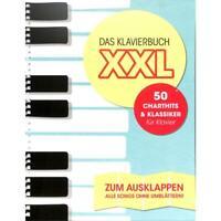 """Das Klavierbuch XXL - mit Texten und Akkorden- BOE7888 + 1 Bleistift """"Musikmotiv"""