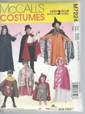 McCall 's Child's Costume Sewing Patterns