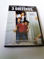 """DVD """"3 SOLTEROS Y UN BIBERON"""" PRECINTADO SEALED COLINE SERREAU RONALD GIRAULD MI"""
