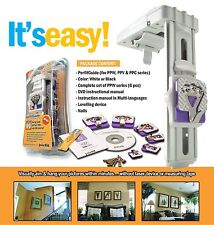 """Picture PerfitGuide Precision Picture Frame """"Aim & Hang"""" Hanger Hook Starter Kit"""